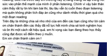 thuy huong 351x185 - Thúy Hương - đạt 850 điểm chỉ sau 1 tháng học lớp Super