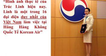 truc linh 5 351x185 - Trúc Linh - trở thành tiếp viên hàng không của Korean Air chỉ sau 6 tháng học Super & Fluency