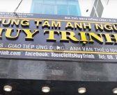 Video trực tiếp về Trung tâm Anh ngữ Huy Trịnh