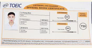 hoàng minh 750 351x185 - Hoàng Minh Vượt 150 Điểm So Với Chỉ Tiêu Trường Sau 2 Tháng Học