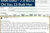 IELTS 01 214x140 - TỔNG HỢP VINH DANH IELTS - CẢM NHẬN HV LỚP LUYỆN THI IELTS